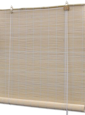 vidaXL Rolgordijn Bamboe 120 x 220 cm  (Naturel)