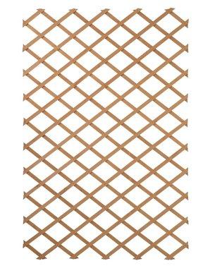 vidaXL Plantenklimrek 100x200 cm hout naturlijk 6041703