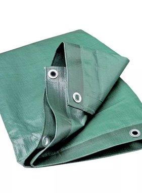 vidaXL Afdekzeil voor hout 600x150 cm groen 5124000