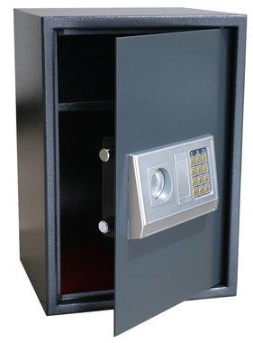 vidaXL Kluis met schap elektronisch digitaal 35 x 31 x 50 cm