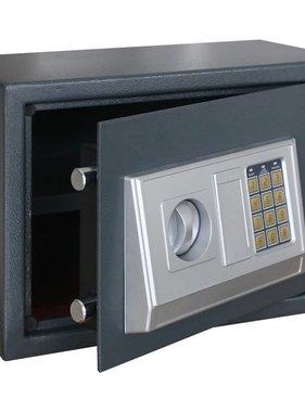 vidaXL Kluis met schap elektronisch digitaal 35 x 25 x 25 cm