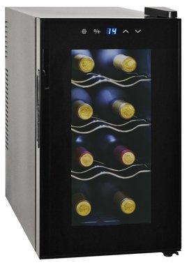 vidaXL Wijnkoeler voor 8 flessen met LCD-scherm 25 L