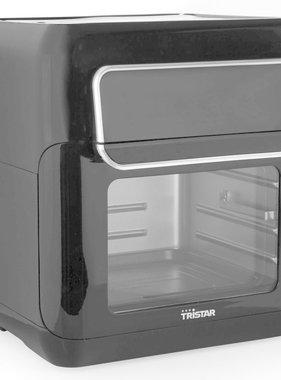 vidaXL Crispy fryer oven 2-in-1 1500 W 11 L zwart