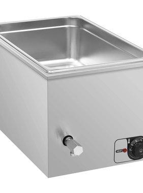 vidaXL Voedselwarmer bain-marie 1500 W GN 1/1 roestvrij staal