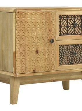 vidaXL Dressoir 60x30x56,5 cm hout bruin