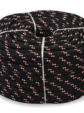 Boot touw 16 mm 250 m polypropyleen zwart