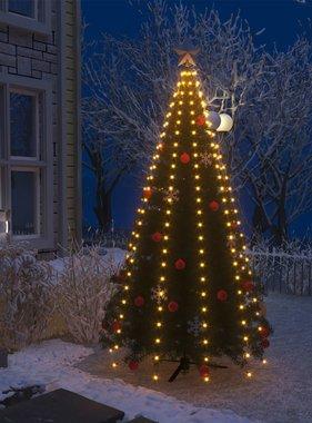 vidaXL Kerstboom netverlichting met 250 LED's IP44 250 cm