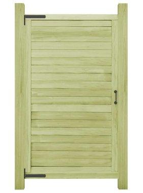 vidaXL Poort 175x100 cm geïmpregneerd grenenhout