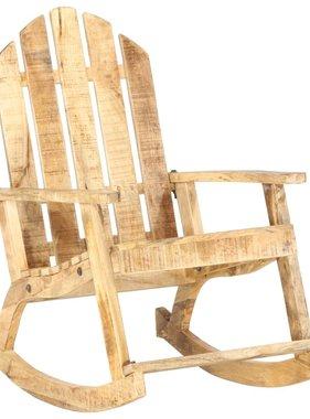 vidaXL Tuinschommelstoel massief mangohout