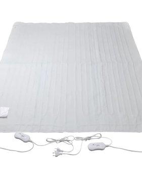 vidaXL Elektrisch onderdeken wasbaar 3 warmtestanden 150x140 cm