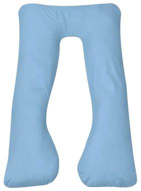 vidaXL Zwangerschapskussen 90x145 cm lichtblauw