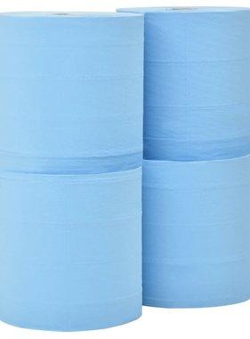 vidaXL Keukenrol industrieel 3-laags 4 rollen 38 cm