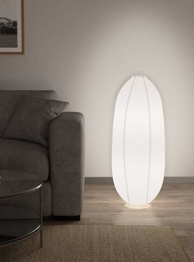 vidaXL Vloerlamp E14 wit