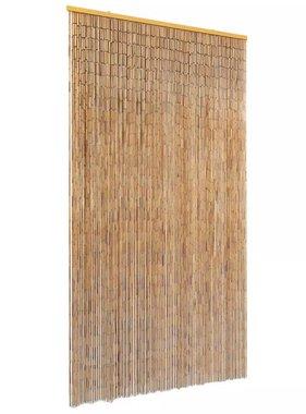 vidaXL Vliegengordijn 100x220 cm bamboe