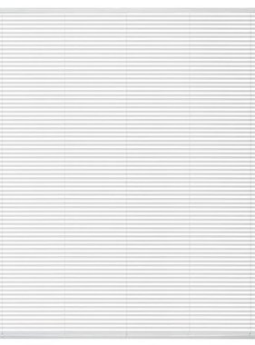 vidaXL Zonwering aluminium 120x160 cm wit