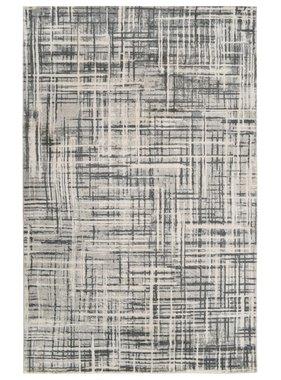 vidaXL Vloerkleed bedrukt 160x230 cm polyester beige