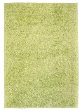 vidaXL Vloerkleed shaggy hoogpolig 140x200 cm groen