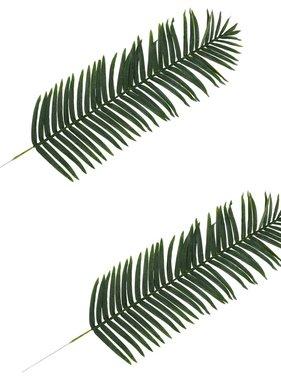 vidaXL Kunstbladeren palm 2 st 160 cm groen