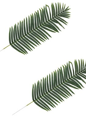 vidaXL Kunstbladeren palm 2 st 140 cm groen
