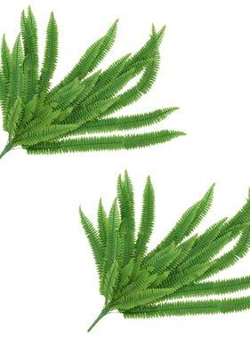 vidaXL Kunstbladeren varen 2 st 120 cm groen