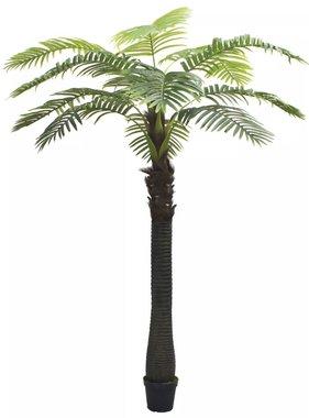 vidaXL Kunst palmboom met pot 310 cm groen