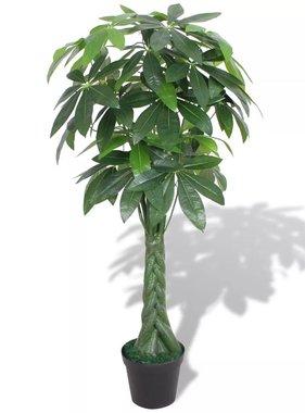 vidaXL Kunst watercacao plant met pot 145 cm groen