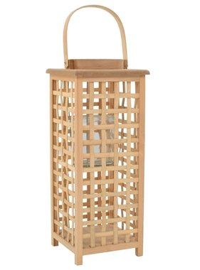 vidaXL Lantaarnhouder hangend bamboe naturel