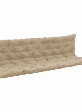 vidaXL Kussen voor schommelstoel 200 cm stof beige