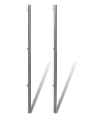 vidaXL Schuttingpalen voor gaashek 2 st 170 cm