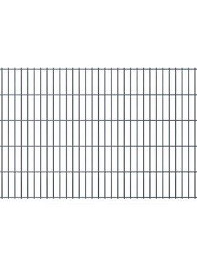 vidaXL Dubbelstaafmat 2008 x 1030 mm 20 m grijs 10 stuks