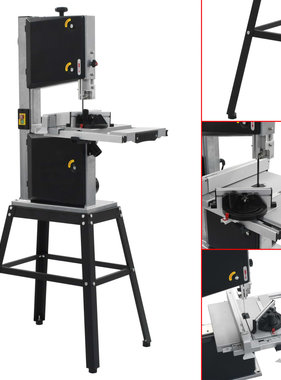 vidaXL Lintzaagmachine met standaard zaagbreedte 245 mm