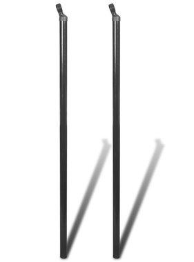 vidaXL Steunpalen voor gaashek 2 st 115 cm