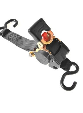 vidaXL spanband met ratel, 180cm, 750kg, automatisch oprolbaar