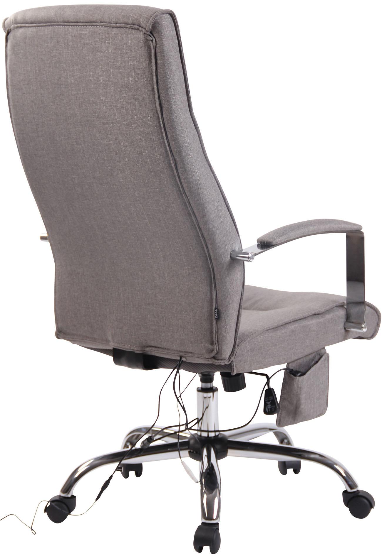 KantoormeubelenPlus Bureaustoel Bryne Stof met Massagefunctie