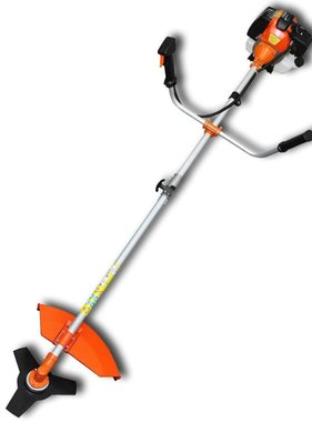 vidaXL Bosmaaier/grastrimmer 51,7 CC 2,2 kW oranje