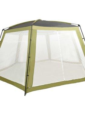 vidaXL Zwembadtent 660x580x250 cm stof groen