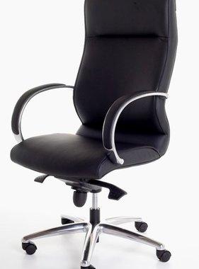 ABC Kantoormeubelen Directiestoel in Zwart leather