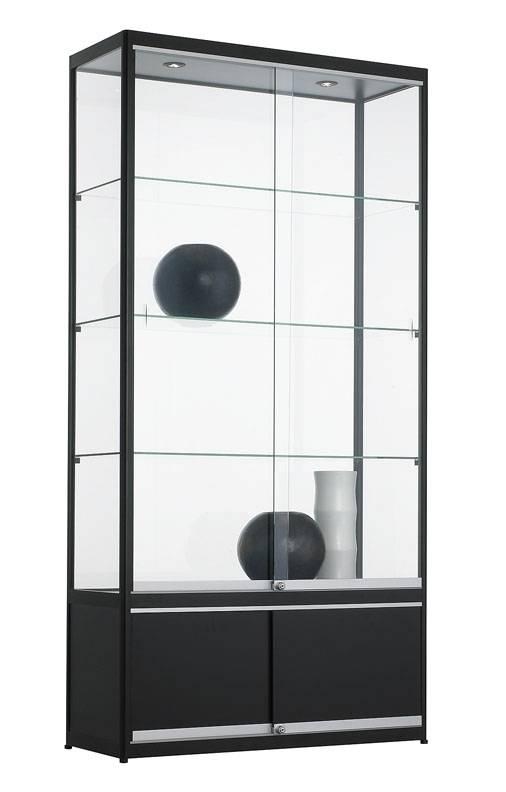 Grote Glazen Vitrinekast.Glazen Vitrinekast Met 3 Legborden