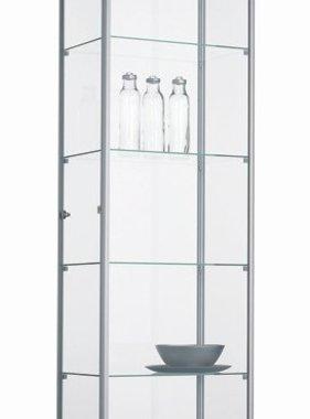 ABC Kantoormeubelen Glazen vitrinekast 200x60x40