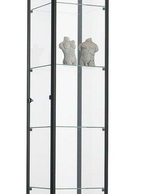 ABC Kantoormeubelen Glazen vitrinekast 200x40x40