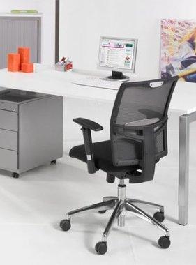 ABC Kantoormeubelen Bureau 4- poots voor op het kantoor