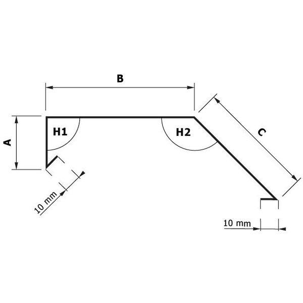 Zetwerk Zink - Deklijst Type 15