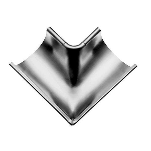 Zinken binnenhoek mastgoot M333. 90 graden