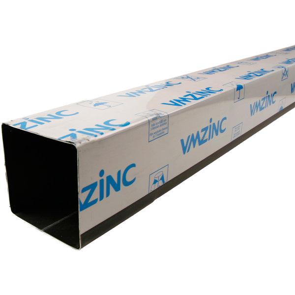 Regenpijp 80x80mm Anthra zink 0.65 dik 2 meter