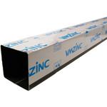 Regenpijp 100x100mm Anthra zink 0.65 dik 2 meter