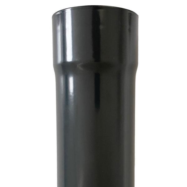 Aluminium regenpijp rond 80mm 2.0mm dik 3 meter in Ral