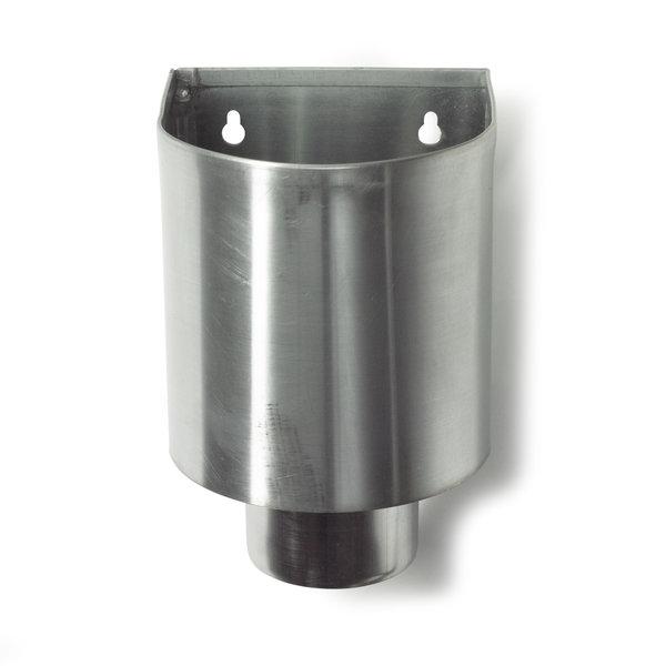 Zinken vergaarbak 80mm rond Mini