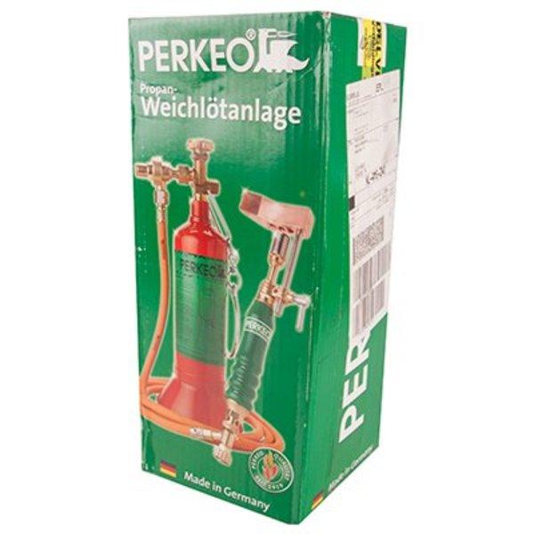 Soldeerbout: PERKEO set (fles. Ventie. Slang. handgreep + branderkop + koperen bout 500 gram)