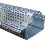 Bladrooster voor zinken bakgoot B37 - 2 meter klikbaar