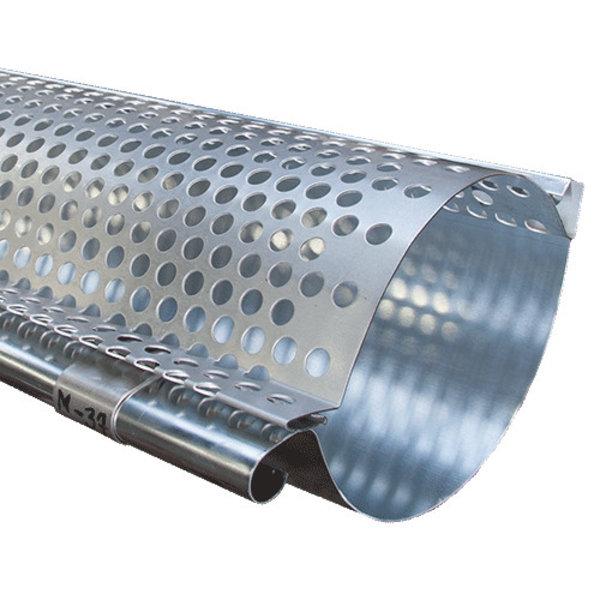 Bladrooster voor zinken mastgoot M37 - 2 meter klikbaar
